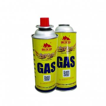 wholesale refined portable butane gas cartridge 220g 250g