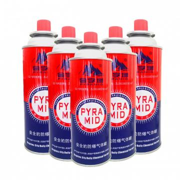 butane gas spray aerosol can butane gas camping gas cartridge gas refill 300ml