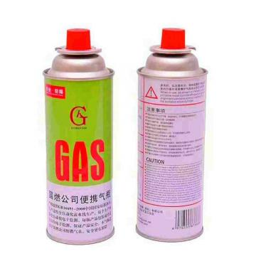 Aerosol tin can for butane gas and refillable aerosol empty spray butane gas mini aerosol can for camp stove