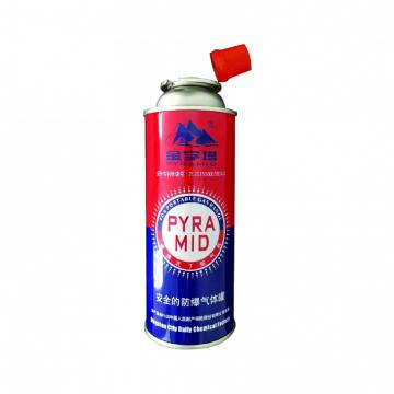 China butane gas fuel 227g and gas butane cartridge  for portable camping stoves