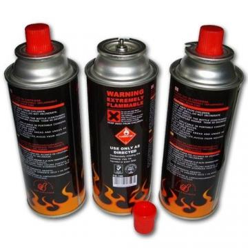 camping gas stove China Gas butane refill 190g 220g 250g refill gas cartridge