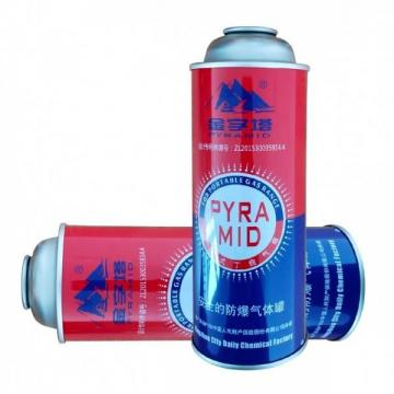 300ml factory butane gas Butane Gas Canister Refilling Aerosol Spray