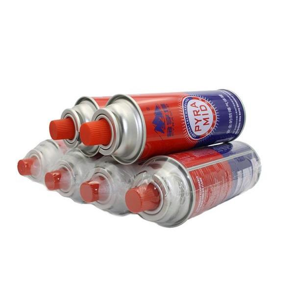Round Shape Portable butane gas cartridge can for portable gas stove
