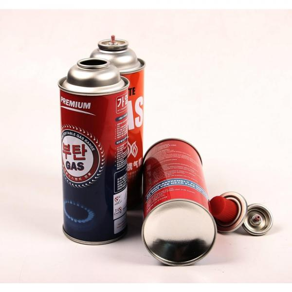 disposable cast iron butane canister 220 g and portable stove butane gas made in china